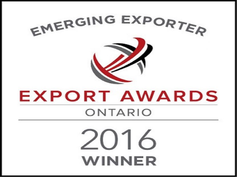 Emerging Exporter Award winner 2016